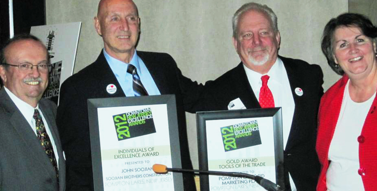 Downtown New Jersey: 2012 Excellence Award W