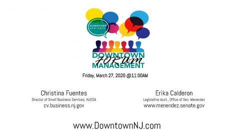 Downtown Management Forum Recap: Economic Relief