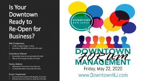 Downtown Management Forum Recap: Is Your Downtown Ready to Re-Open for Business?
