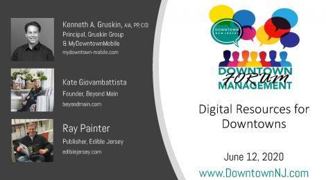Downtown Management Forum Recap: Digital Resources for Downtowns