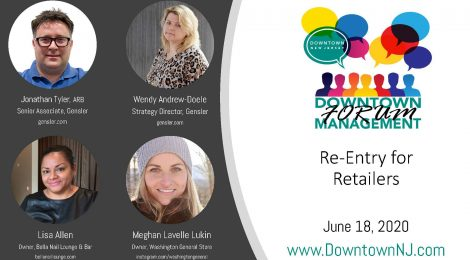 Downtown Management Forum Recap: Re-Entry for Retailers