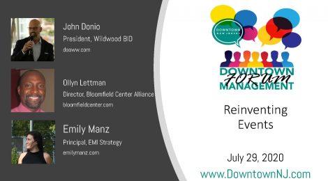 Downtown Management Forum Recap: Reinventing Events