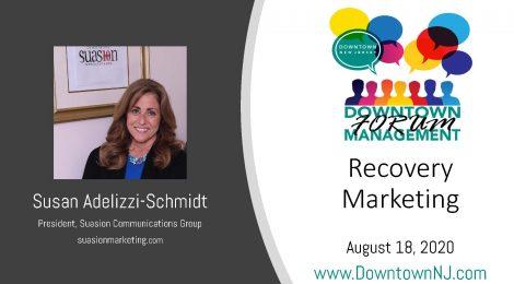 Downtown Management Forum Recap: Recovery Marketing
